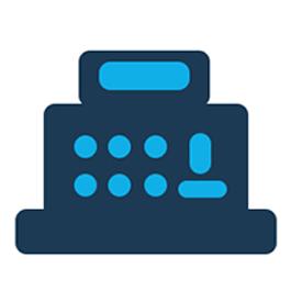 Image: cash register icon