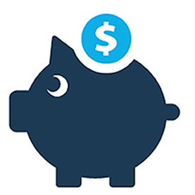 Image: piggy bank icon